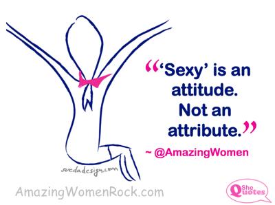 AWR Sexy is an attitude