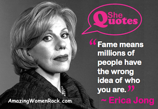 Erica Jong Fame means