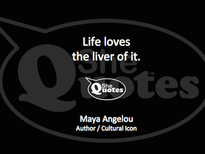 Maya Angelou life loves the liver