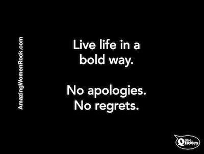 AWR live life boldly