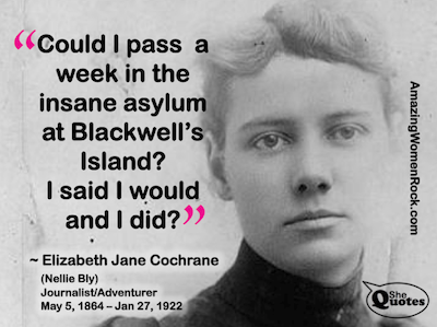 Nellie Bly insane asylum