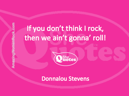 Donnalou Stevens rock and roll
