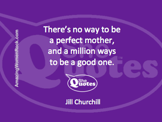 Jill Churchill perfect mother
