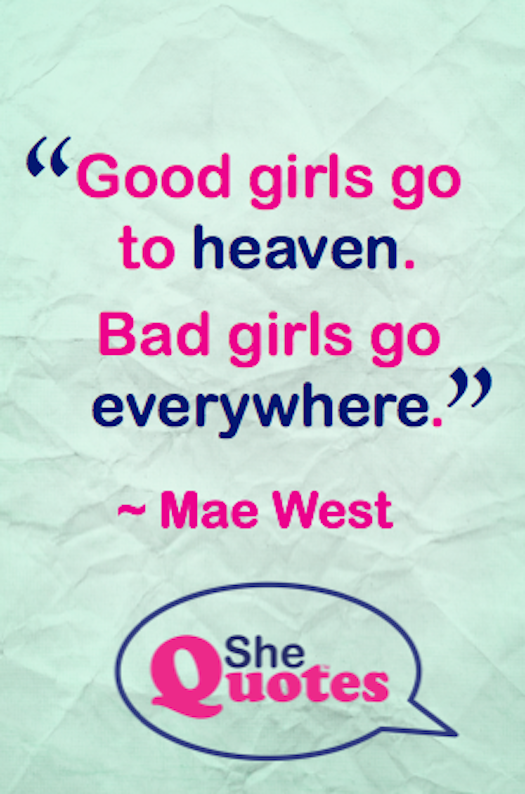 Mae West bad girls