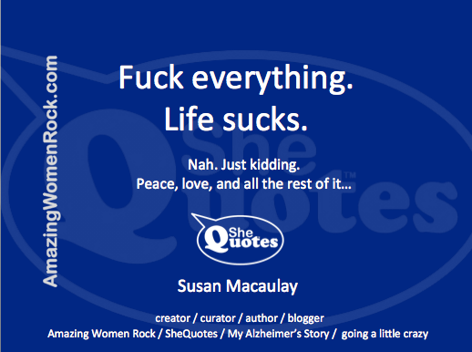 Me life sucks