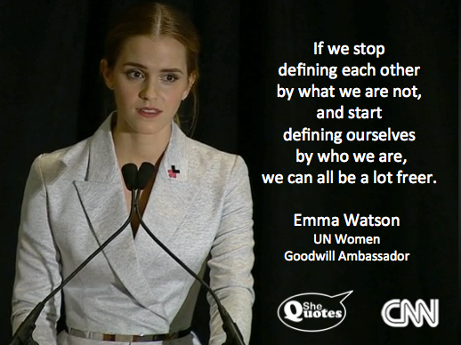 Emma Watson we can be freer