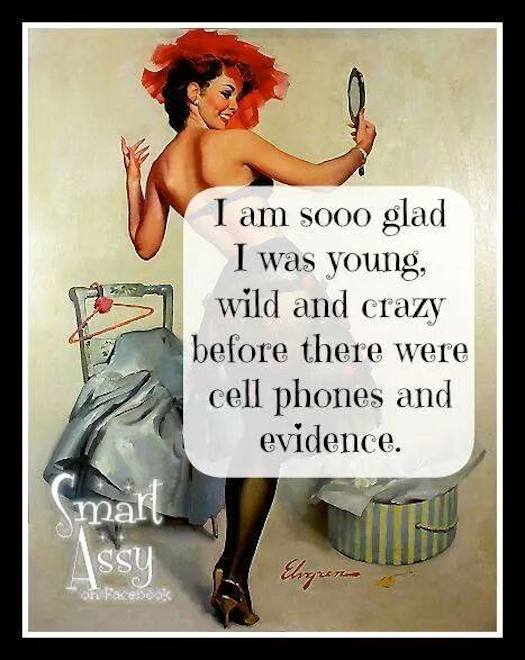 Wild and crazy before cell phones