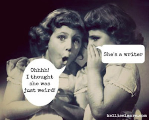 Kellie Elmore she's a writer