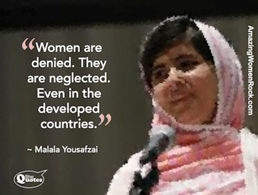 Malala women are denied