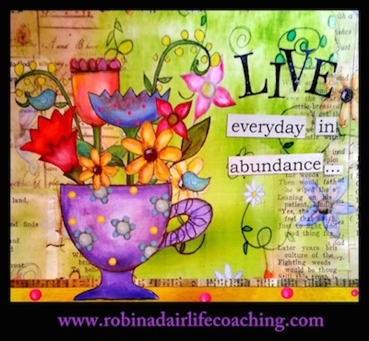 Robin Adair Live in abundance