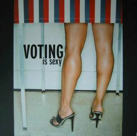 #SheQuotes Voting is Sexy