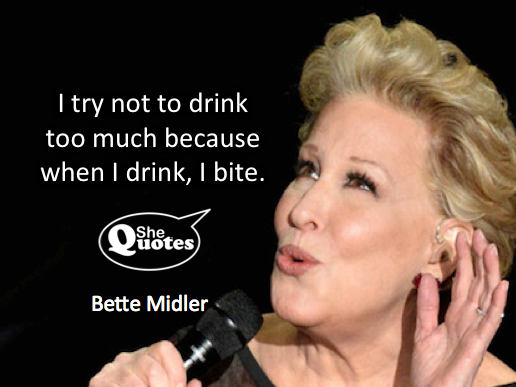 Bette Midler I bite