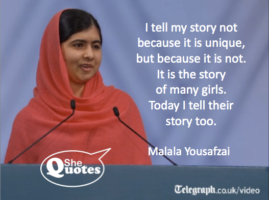 Malala my story is not unique