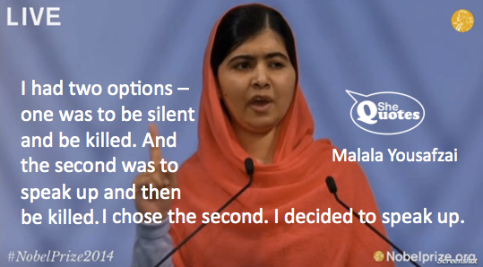 Malala two options