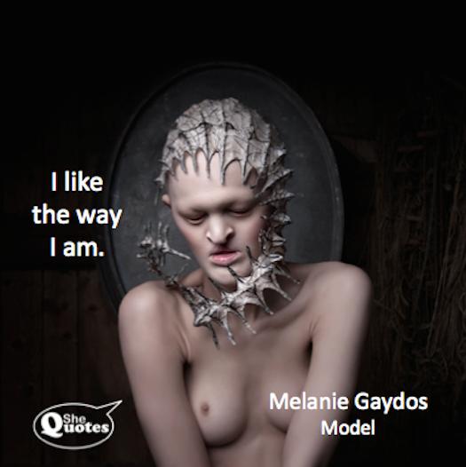 Melanie Gaydos likes what she sees