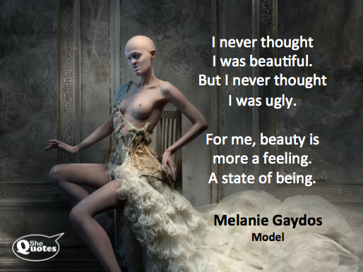 Melanie Gaydos on the state of beauty