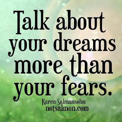 Karen Salmonsohn talks about her dreams