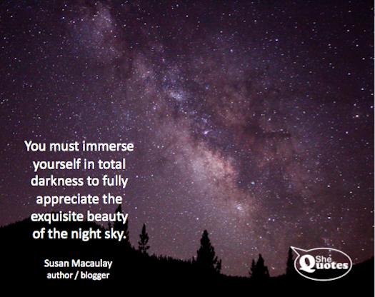 Me night sky