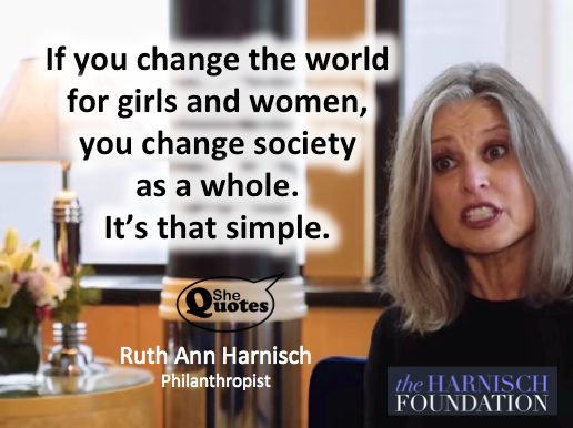 Ruth Ann Harnisch change society