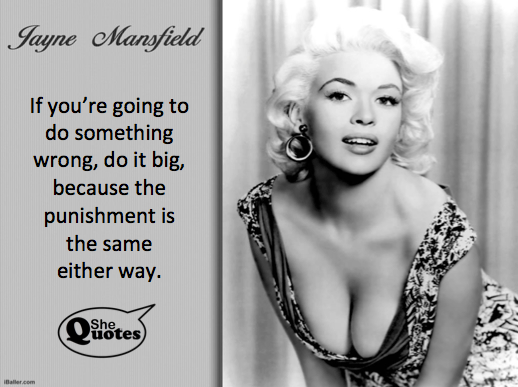 Jayne Mansfield do it big