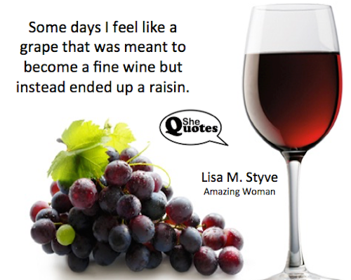 Lisa M. Styve is a raisin