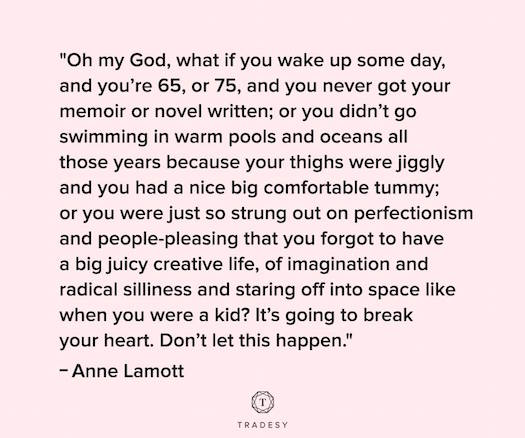 Anne Lamott live a juicy life