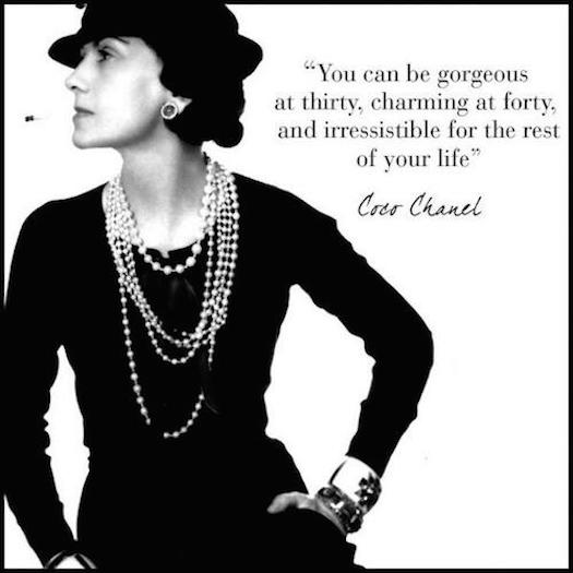 Coco Chanel gorgeous at 30