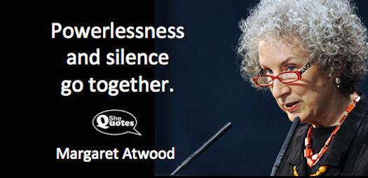 Margaret Atwood powerlessness