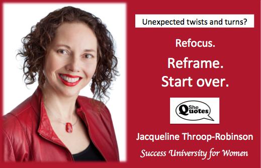 Jacqueline Throop-Robinson refocus