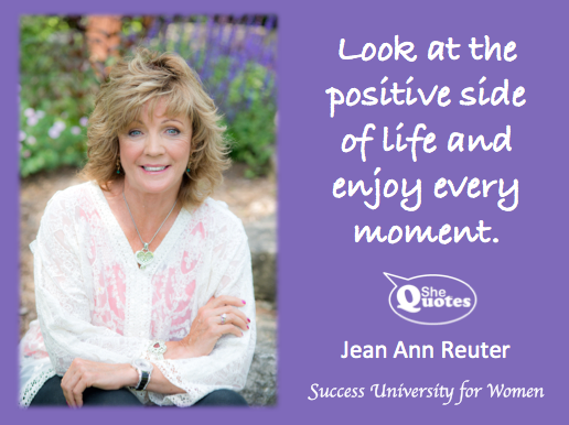 Jean Ann Reuter enjoy