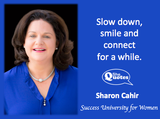 Sharon Cahir a while two words