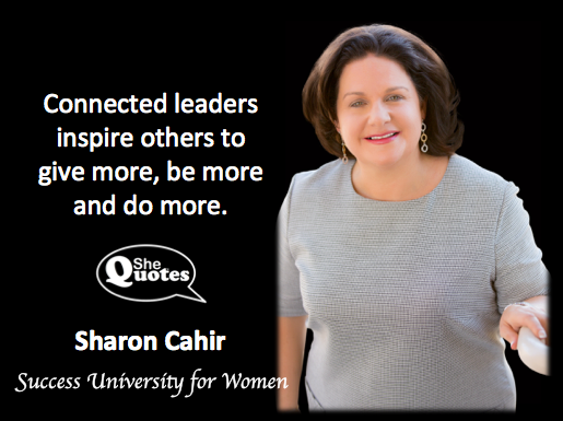Sharon Cahir inspire others