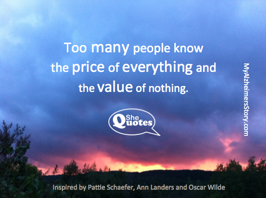 #SheQuotes knows the value