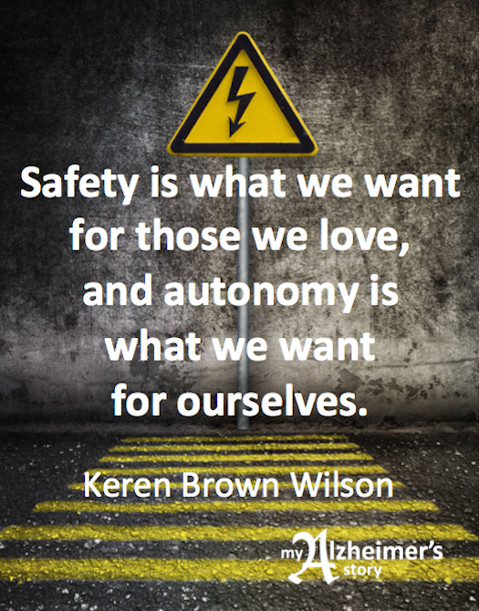 Keren Brown Wilson safety is what we want for those we love